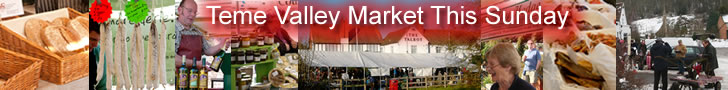 Teme Valley Market this Sunday